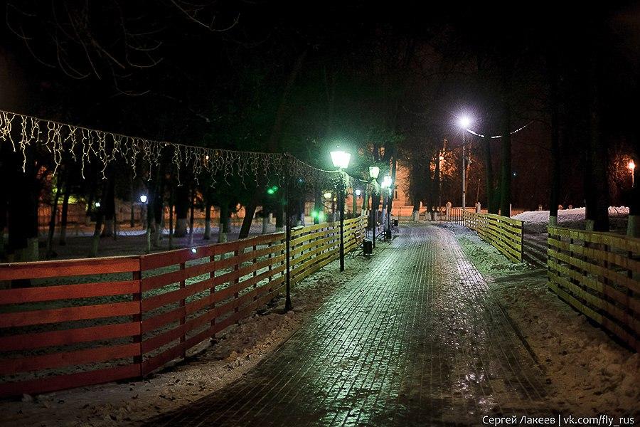 Вечерняя прогулка по Владимиру осенью 08