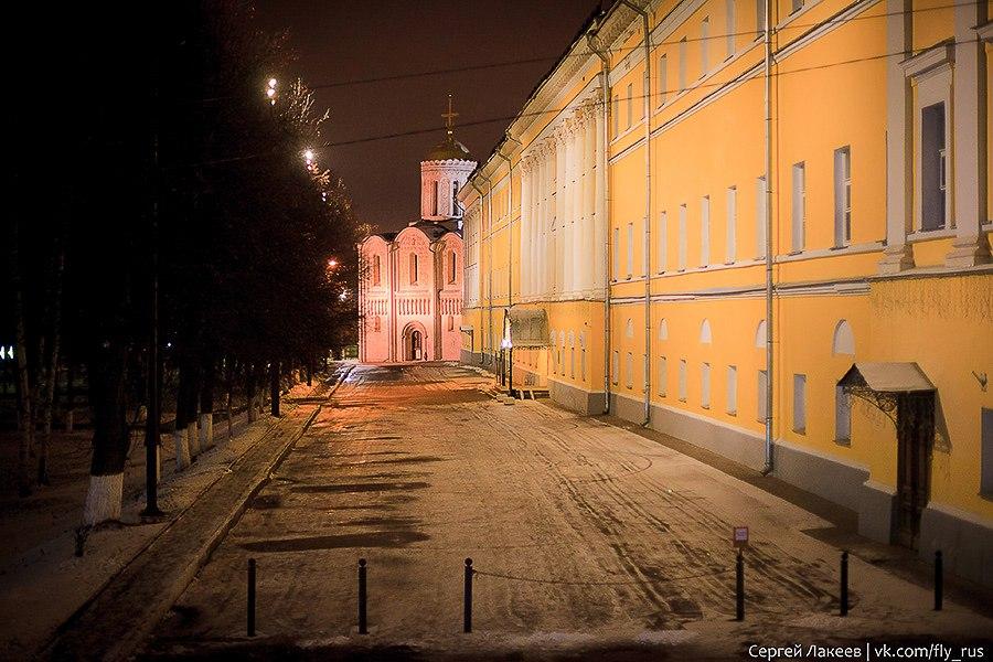 Вечерняя прогулка по Владимиру осенью 09