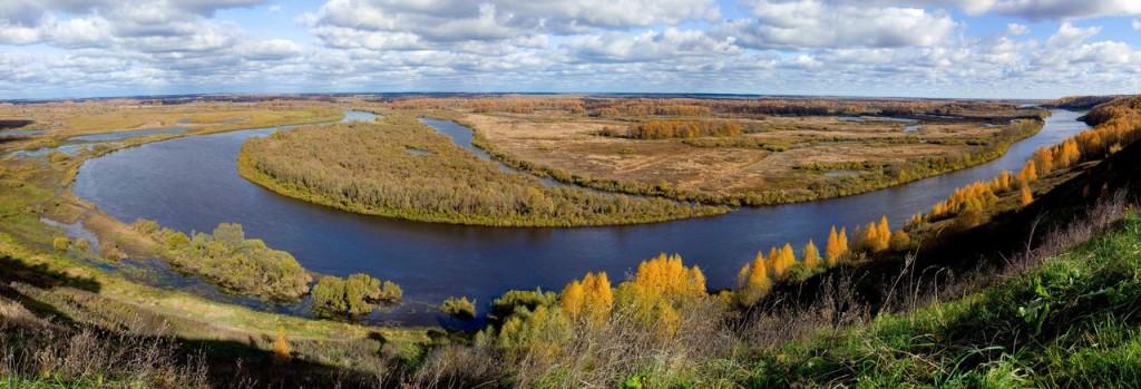 Вязниковский перегиб реки Клязьма