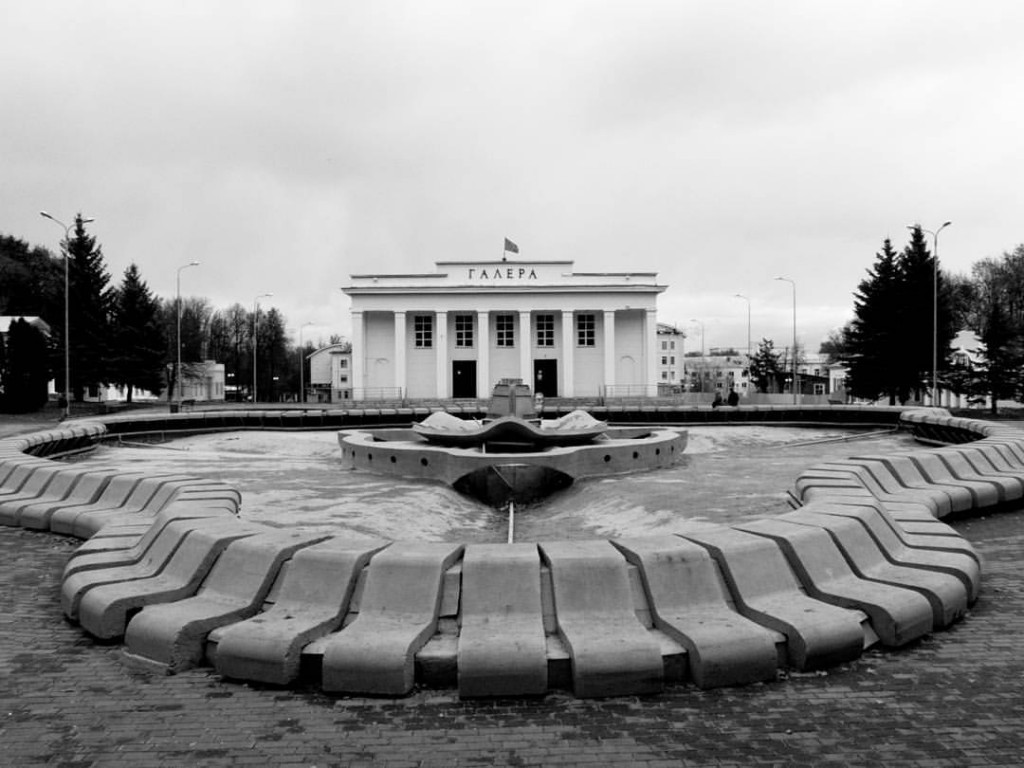 В центральном парке Владимира