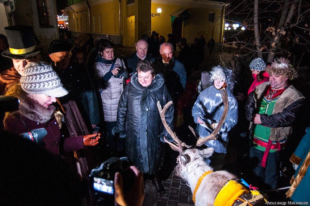 День Рождения Деда Мороза во Владимире 07