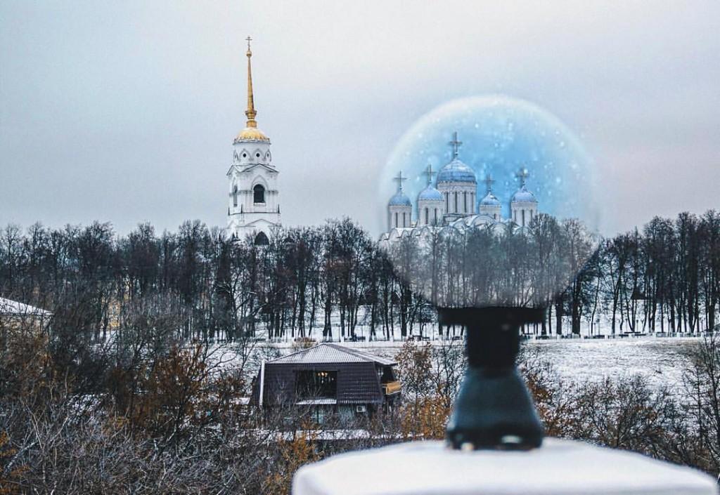 Зимняя фантазия во Владимире