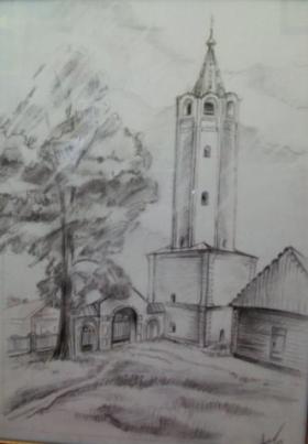 Колокольня Троицкой церкви.280x403
