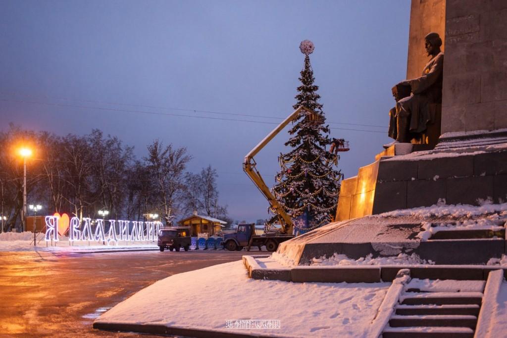 Новогодняя ёлка во Владимире 2015-2016 02