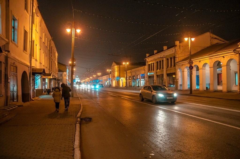 Ночью Владимир производит особое впечатление 03