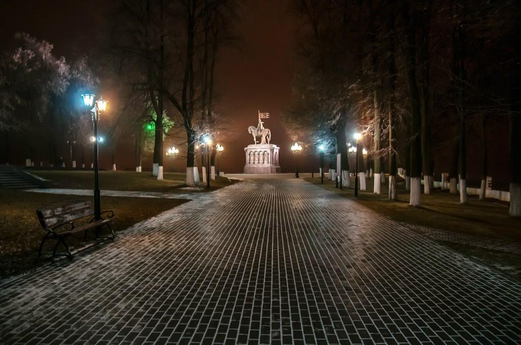 Ночью Владимир производит особое впечатление 05