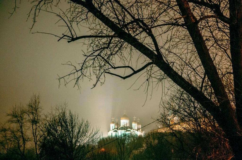 Ночью Владимир производит особое впечатление 08