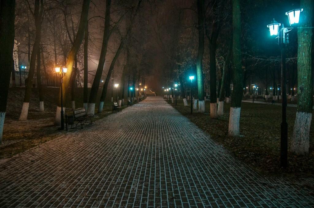 Ночью Владимир производит особое впечатление 09