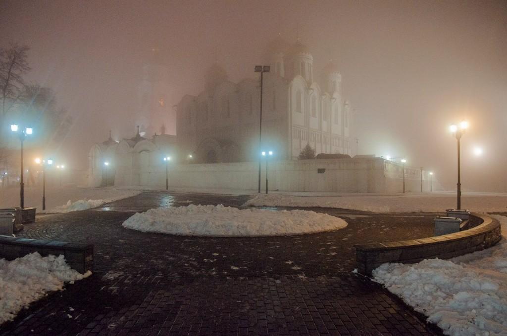 Ноябрьские туманы во Владимире 01