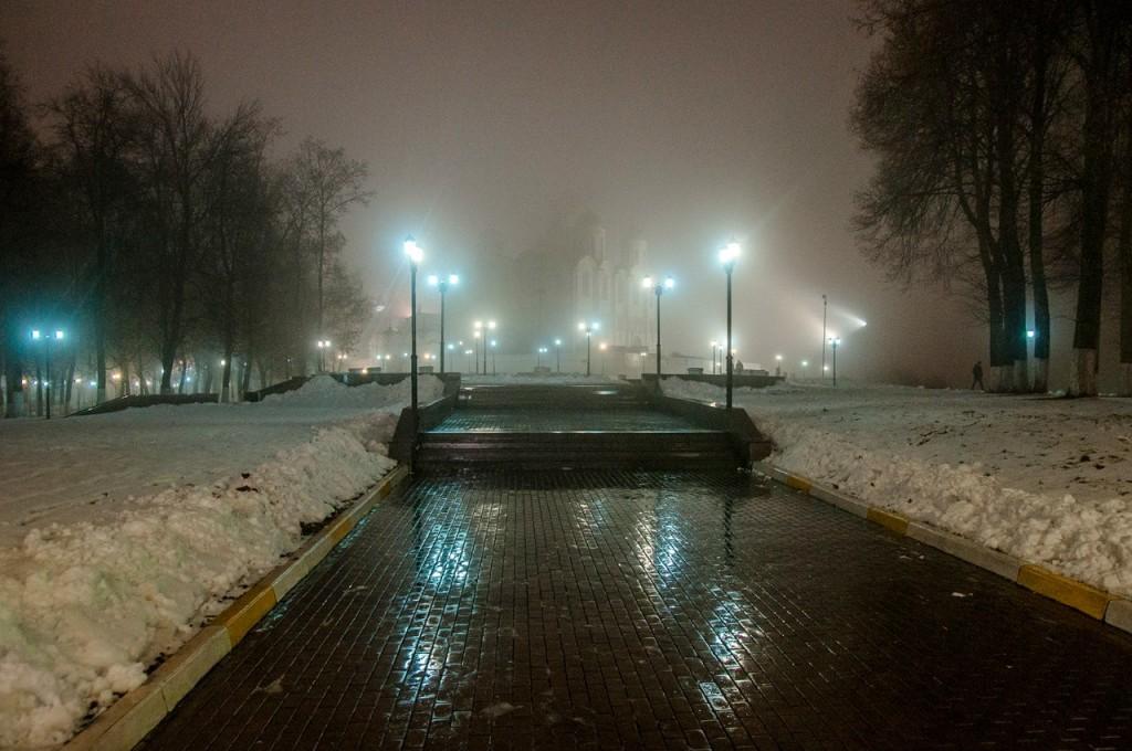 Ноябрьские туманы во Владимире 07
