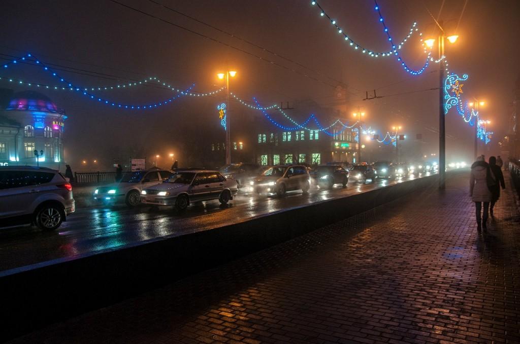 Ноябрьские туманы во Владимире 13