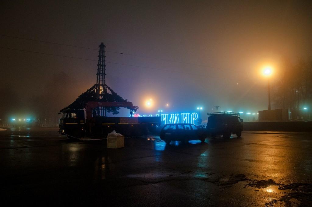 Ноябрьские туманы во Владимире 14