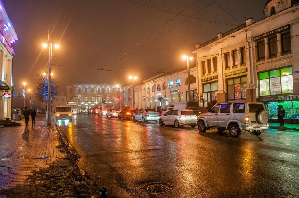 Ноябрьские туманы во Владимире 16