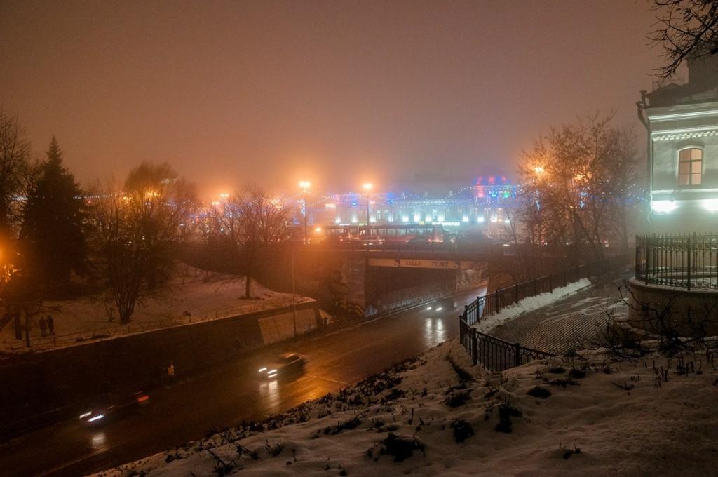 Ноябрьские туманы во Владимире 19