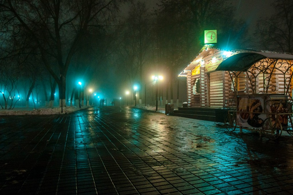 Ноябрьские туманы во Владимире 21