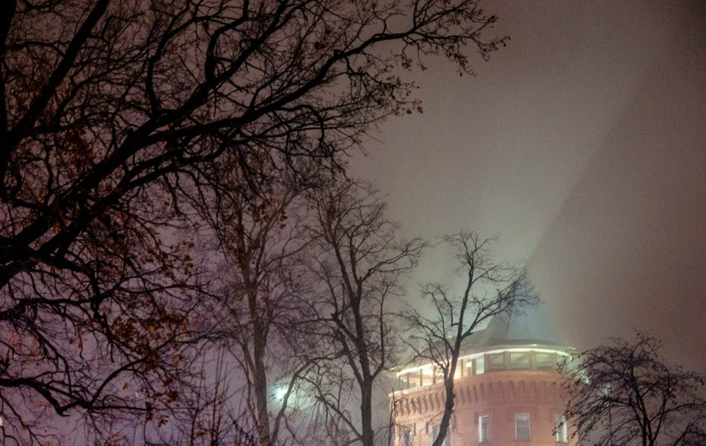 Ноябрьские туманы во Владимире 25