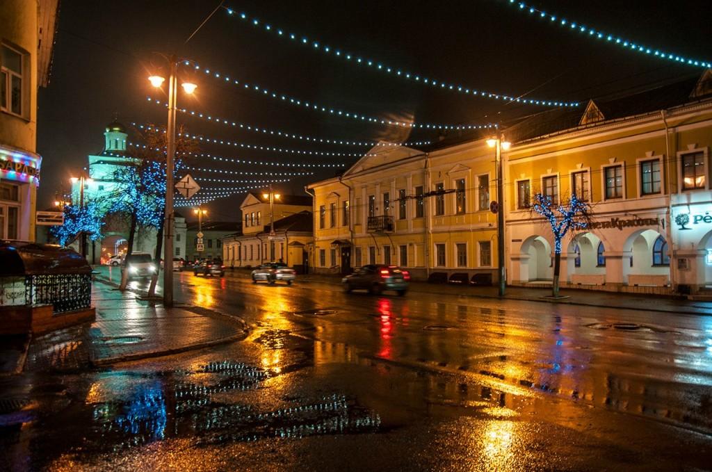 Ноябрьские туманы во Владимире 27