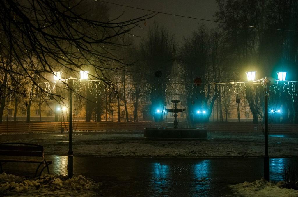 Ноябрьские туманы во Владимире 37