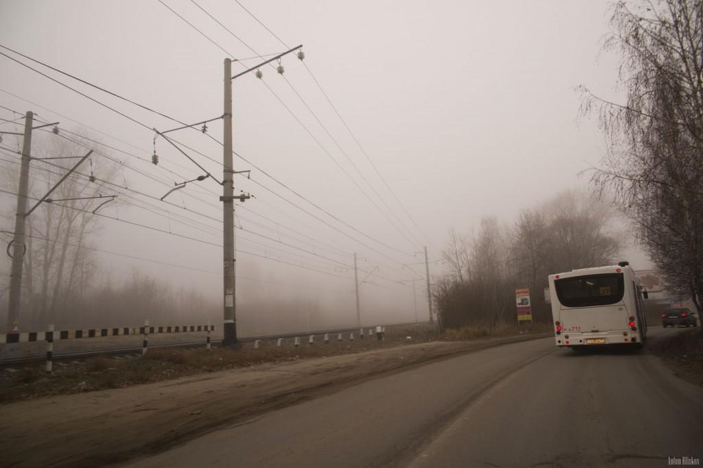 Ноябрьский утренний туман во Владимире (09.11.2015г) 03