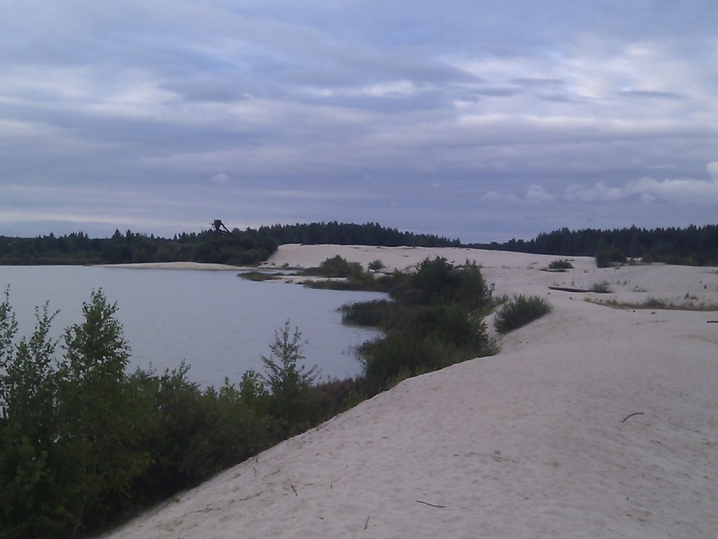 Озеро у д. Пятница, Гусь-Хрустальный район 06