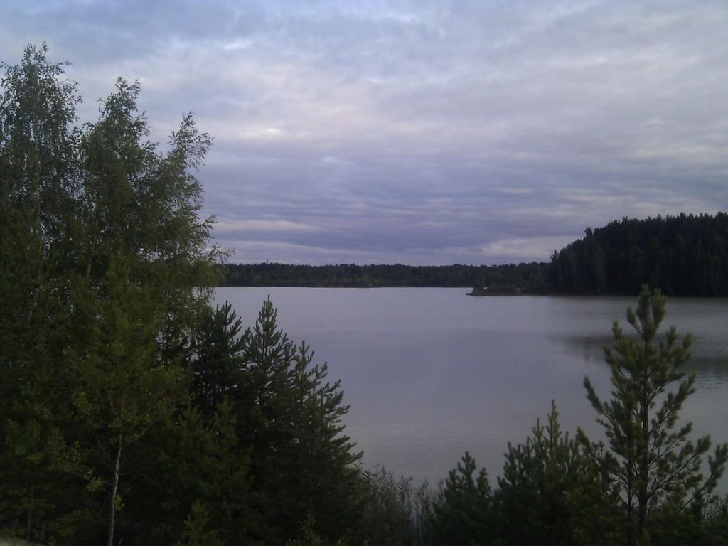 Озеро у д. Пятница, Гусь-Хрустальный район 08