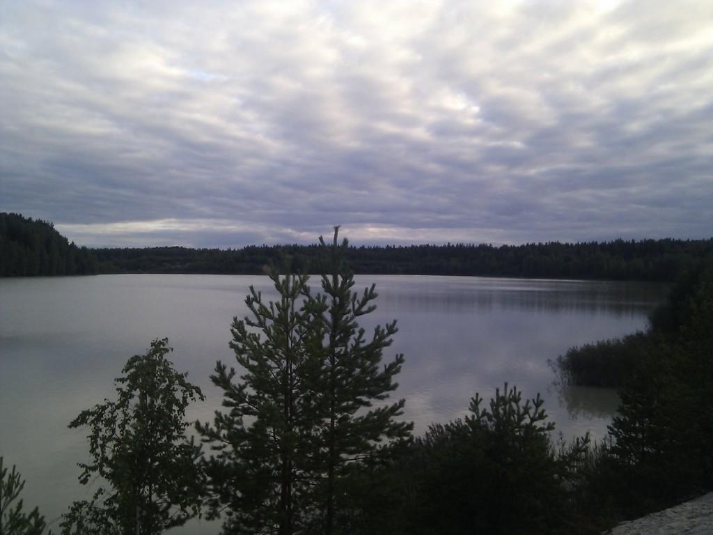 Озеро у д. Пятница, Гусь-Хрустальный район 09