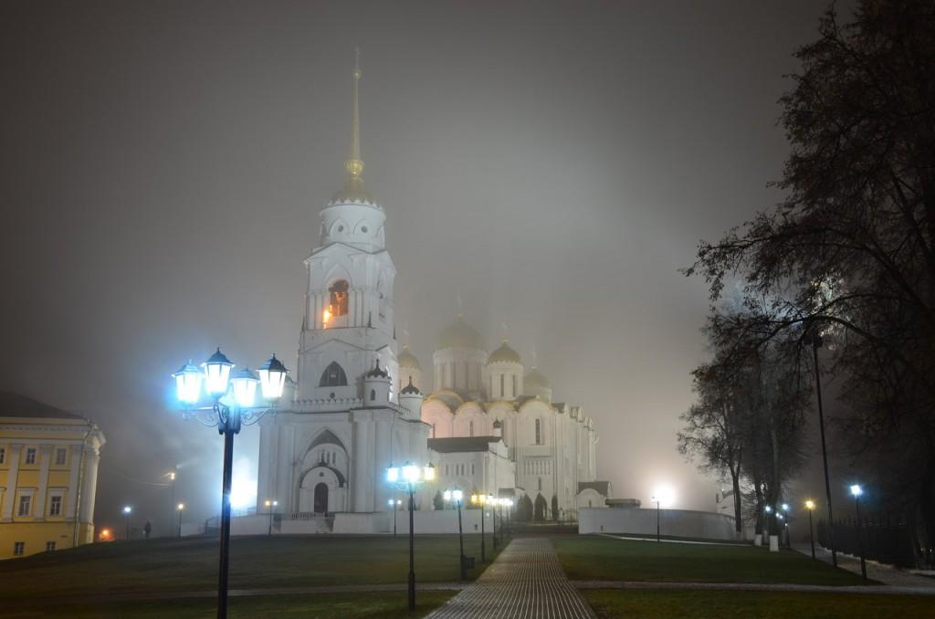 Осенний туман во Владимире 04