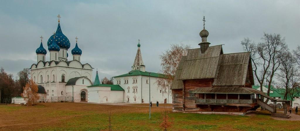 Панорама Суздальского кремля