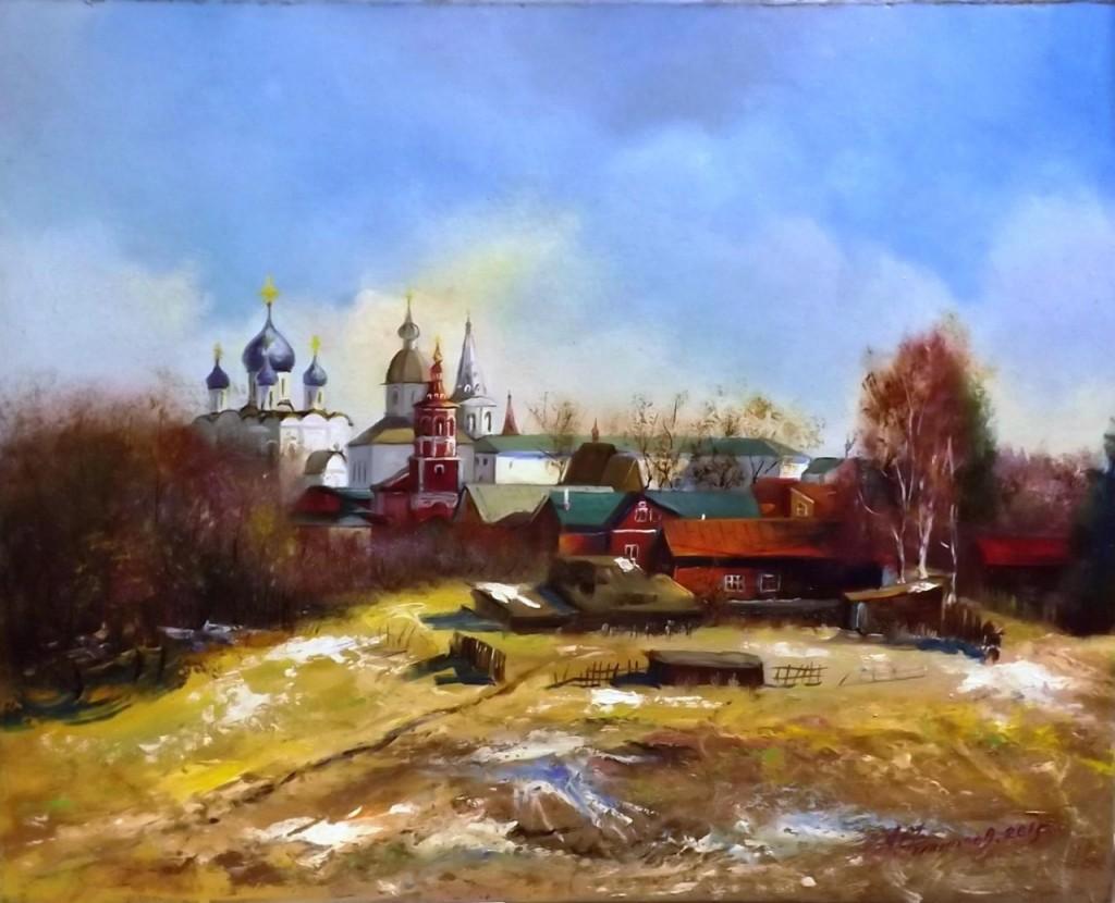 Панорама Суздаля. Ильинский луг