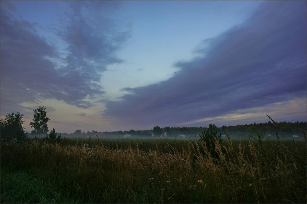 Перед восходом около деревни Жуиха (Камешковский район)
