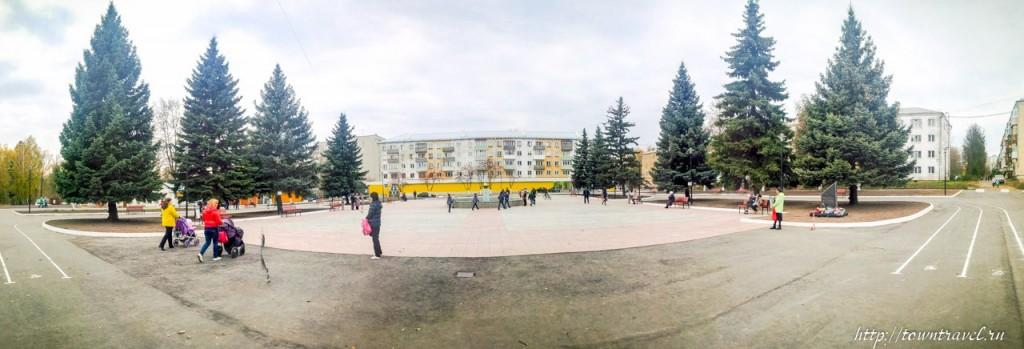 Площадь Прокуророва в Муроме после открытия