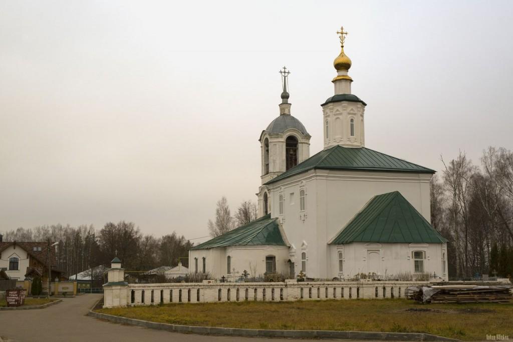Преображенский храм, с. Чамерево, Судогодский р-н. 01