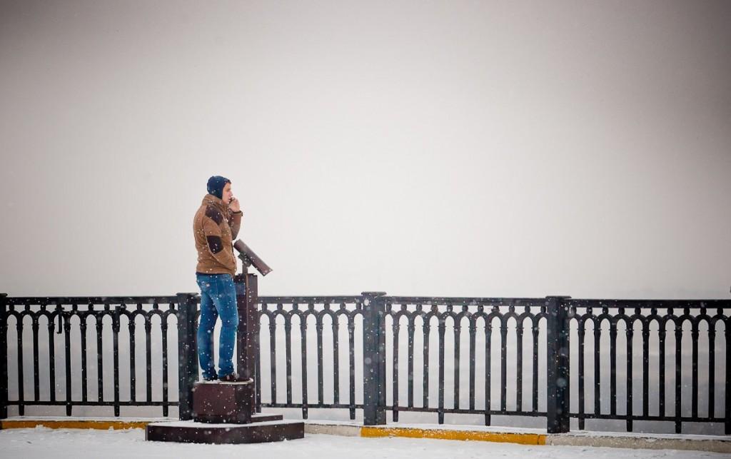 Снегопад во Владимире 01
