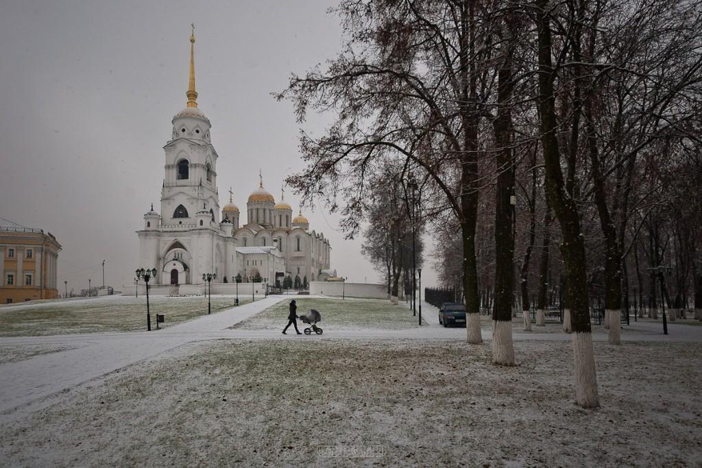 Снегопад во Владимире 02