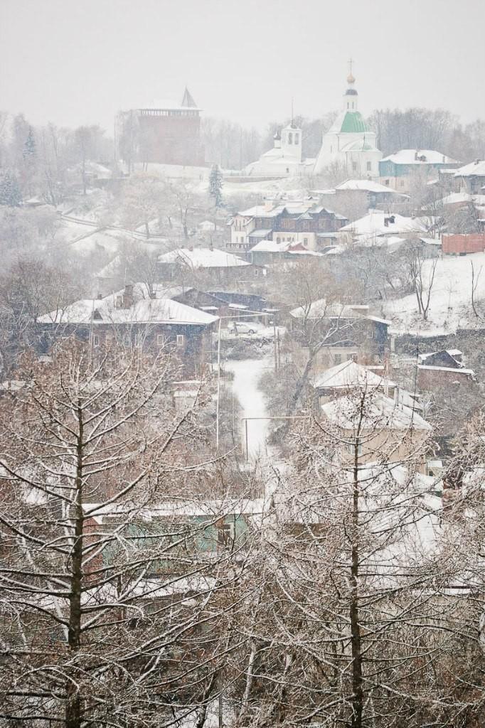 Снегопад во Владимире 03