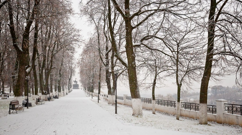 Снегопад во Владимире 04