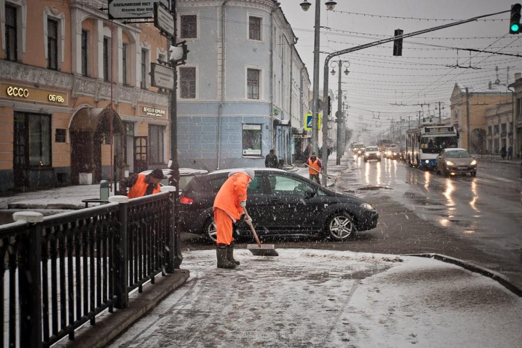 Снегопад во Владимире 05