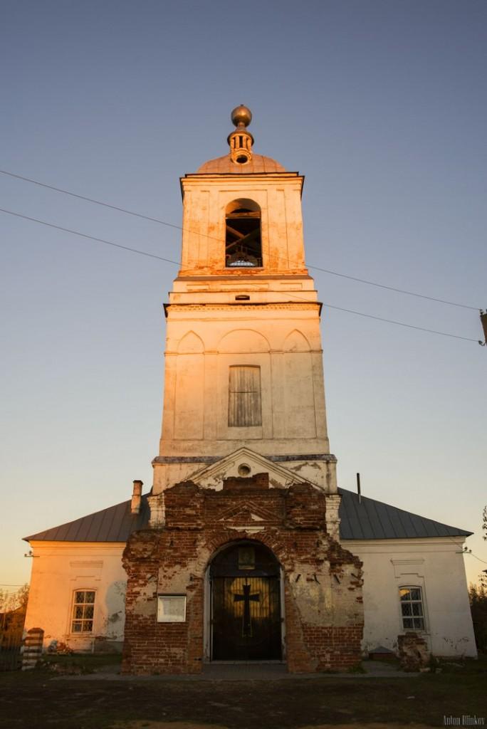 Успенская церковь, с. Мошок, Судогодский р-н. 01
