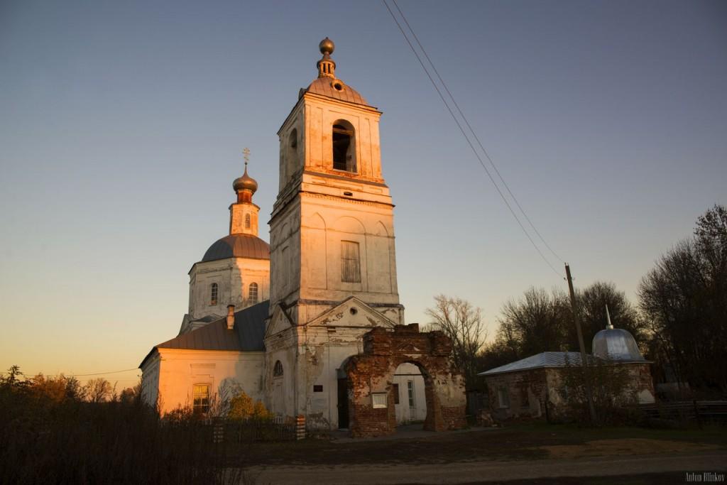 Успенская церковь, с. Мошок, Судогодский р-н. 02