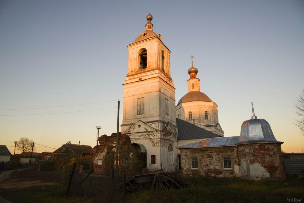 Успенская церковь, с. Мошок, Судогодский р-н. 03