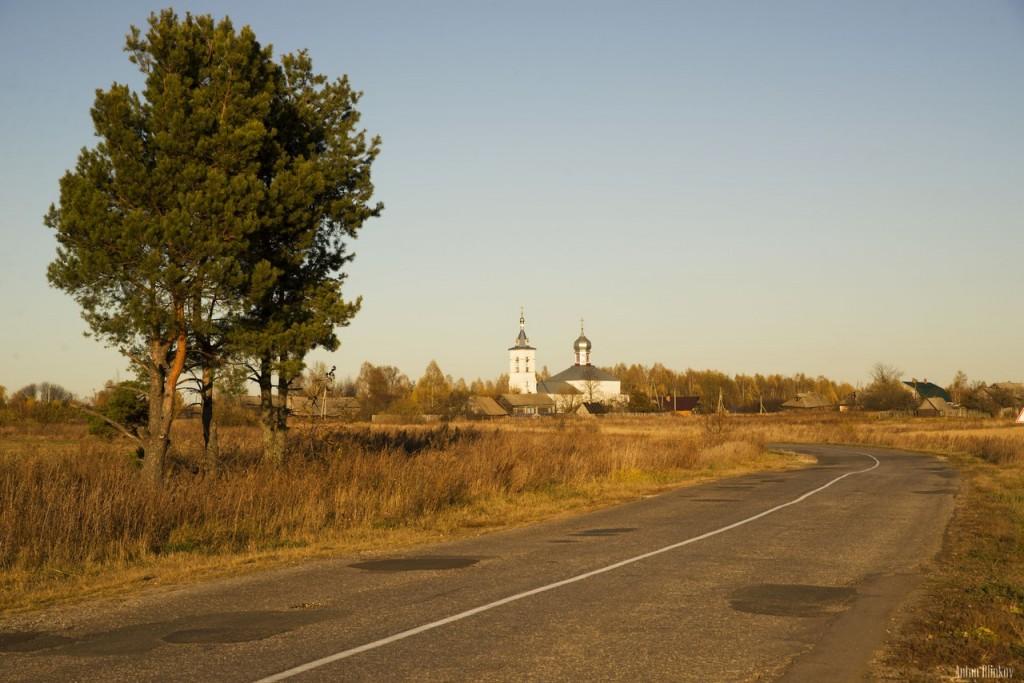 Церковь Параскевы Пятницы, с. Губцево, Гусь-Хрустальный р-н. 01
