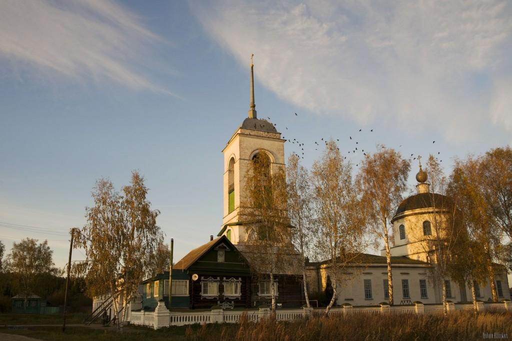 Церковь Рождества Христова, с. Заколпье, Гусь-Хрустальный р-н 01