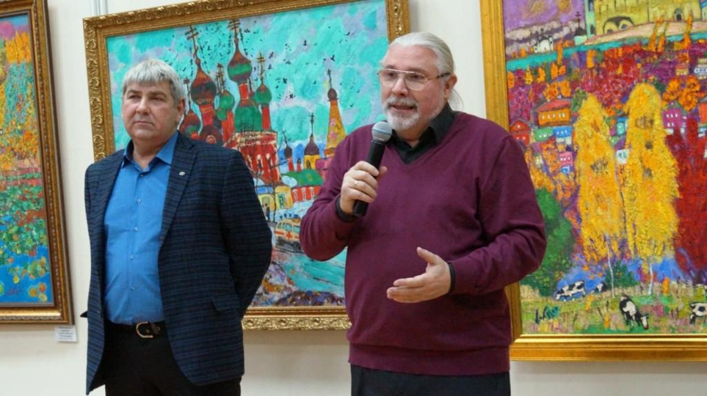 Юбилейная выставка Валерия Кокурина 05