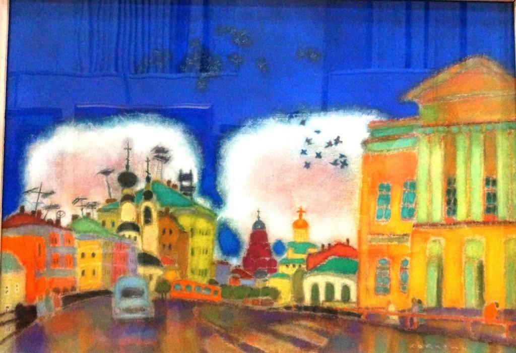 Юбилейная выставка Валерия Кокурина 08