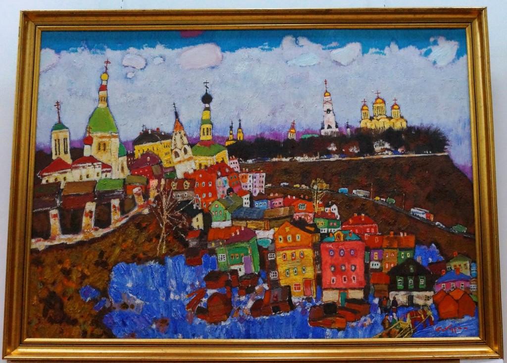 Юбилейная выставка Валерия Кокурина 09