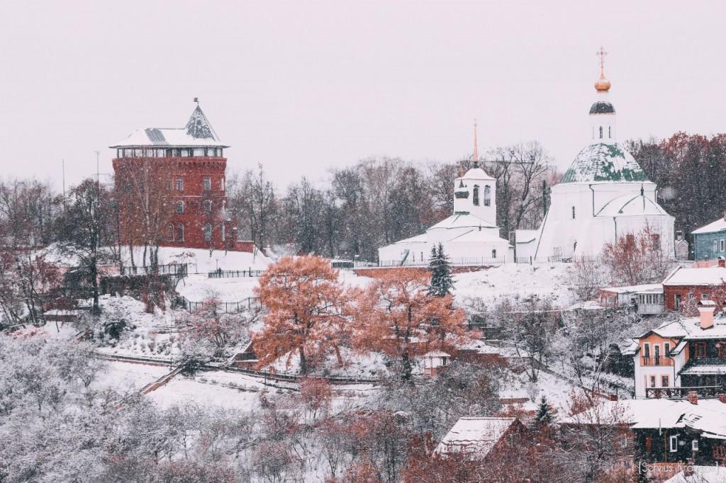 30.10.2015 Снежный октябрь во Владимире 02