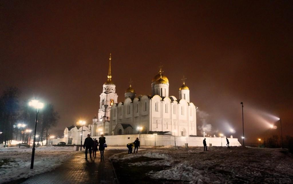 Вечерний Владимир, зима 04