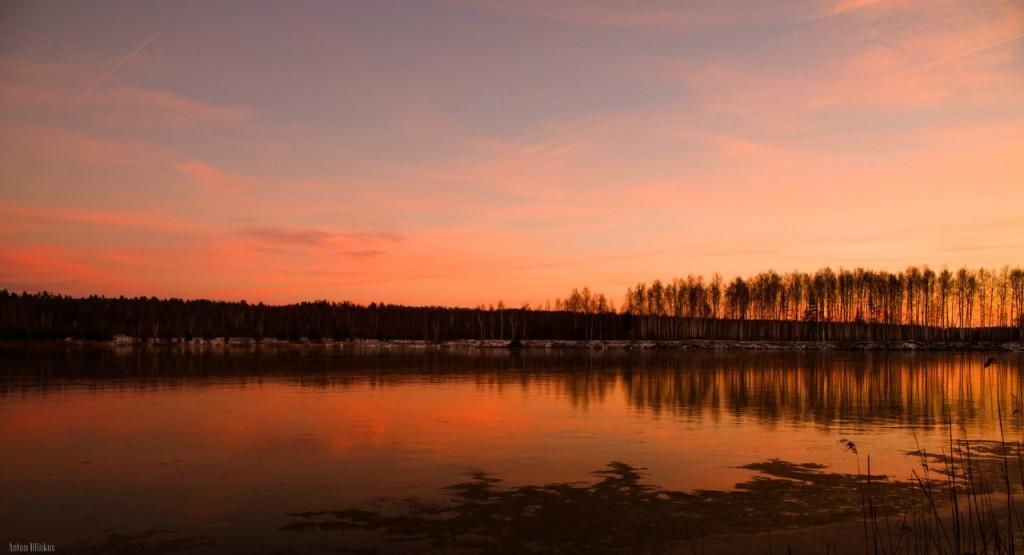 Вечер во Владимирской области