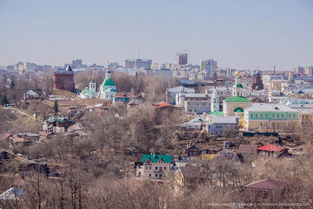 Вид на Владимир с высокой колокольни 01