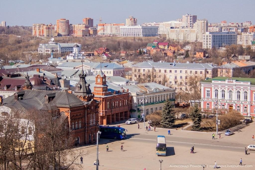 Вид на Владимир с высокой колокольни 02